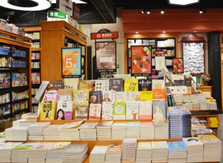 希望书店书籍展示