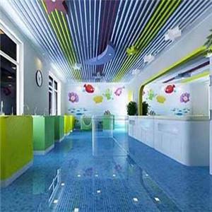 悅兒灣嬰兒游泳館藍色