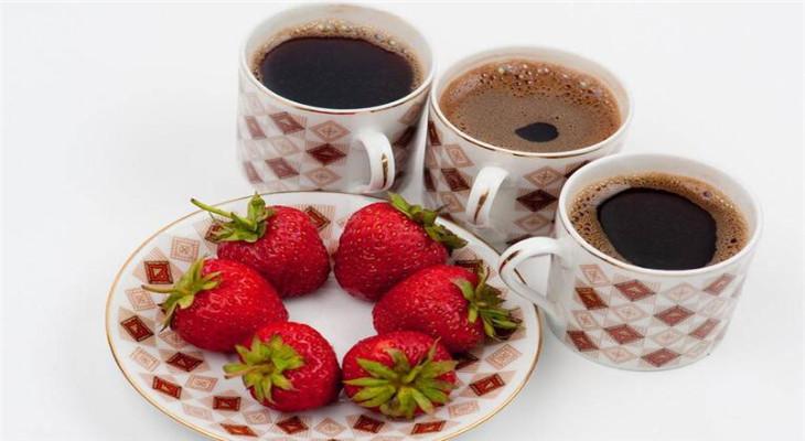 鲜果咖啡美味