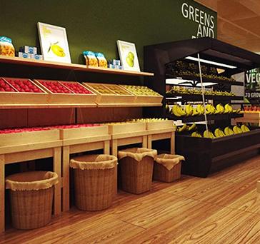 易购超市水果区