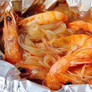 巴頓王記錫紙烤粉絲香蝦味