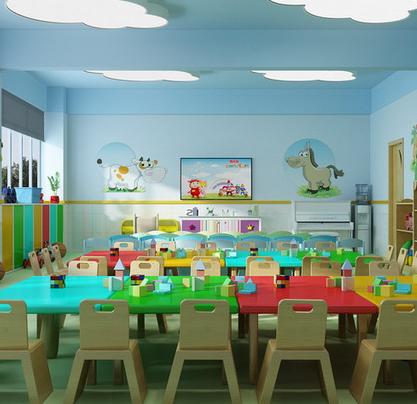 安喬國際雙語幼兒園教室效果