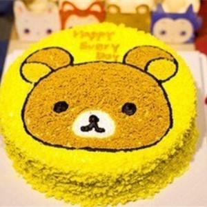 欧尚烘焙坊小熊蛋糕