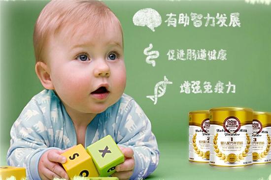 贝贝羊奶粉有助智力发展
