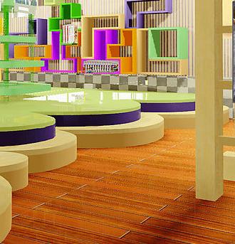 安喬國際雙語幼兒園閱覽室