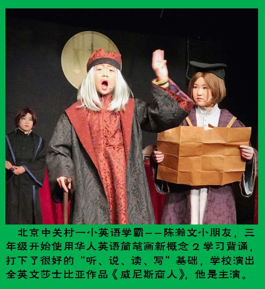 名师画说华人英语学校演出
