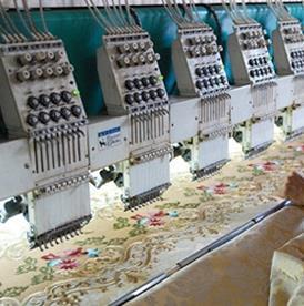 富美格德国进口浮雕绣花机