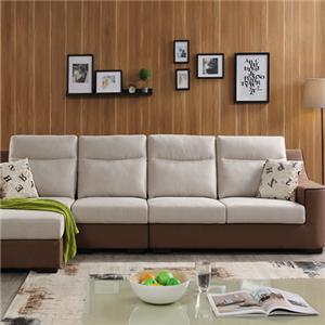 格调布艺沙发单色沙发