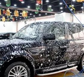 非洗不可泡沫洗車