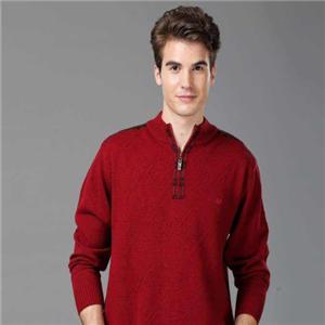 恒源祥羊毛衫红羊毛衫