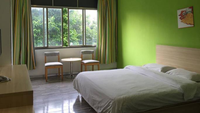 格子微酒店房間