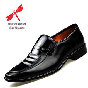 红蜻蜒皮鞋男士皮鞋