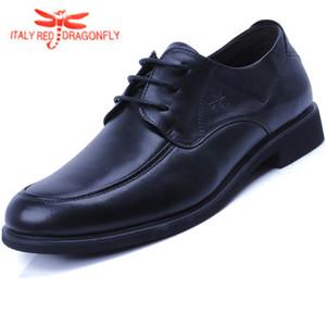 红蜻蜒皮鞋牛皮鞋