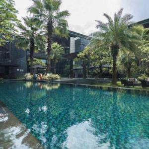 花都木莲庄酒店游泳池
