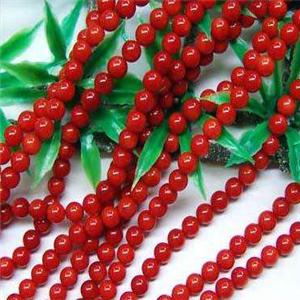 红珊瑚饰品项链