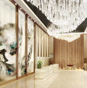 廣大商務酒店走廊