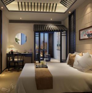 廣大商務酒店臥室
