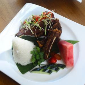 華美達安可酒店菜品1