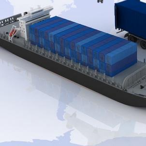 贵港物流船
