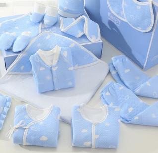 蜂巢母婴衣服套装