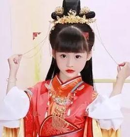 凤绫儿公主装