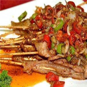 太爷鸡无烟火锅烤肉店肉串