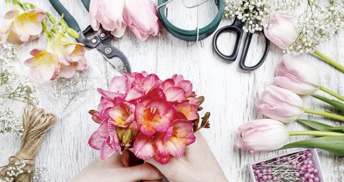 美时光插花