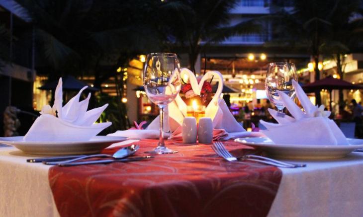 華美達安可酒店燭光晚餐