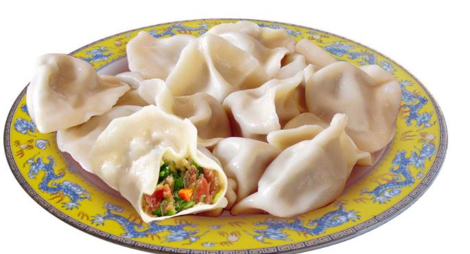 包点饺子三鲜味