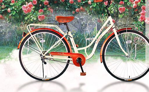 凤凰自行车女式车