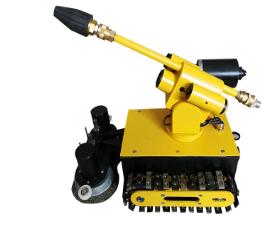 藍睿大型油煙機清洗鋼刷機器人