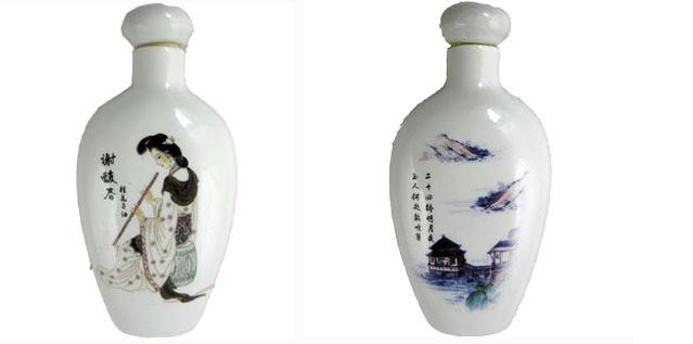 百年老店酒瓷瓶