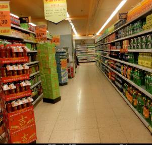 迪卡侬超市食品区