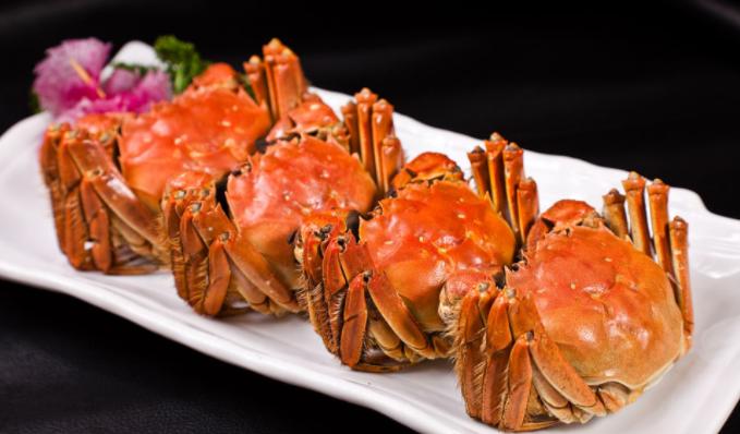 碧波大闸蟹肉质鲜美
