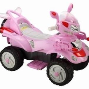 贝瑞佳儿童电动车四轮摩托车