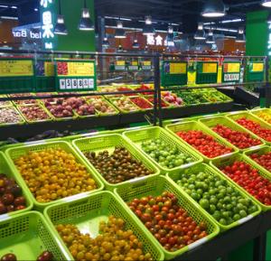 迪卡侬超市水果区