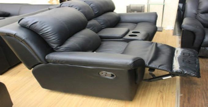 太子布艺沙发黑色