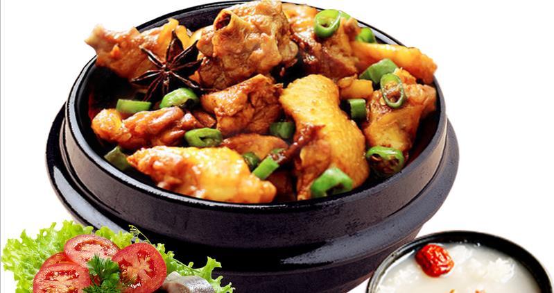 西汗脆皮鸡饭品种
