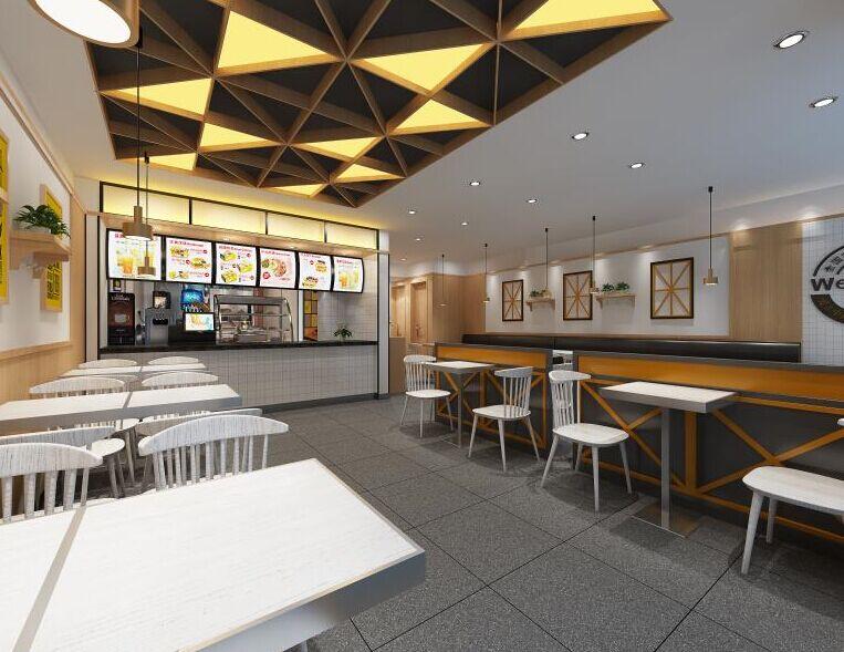 百基拉快餐汉堡门店