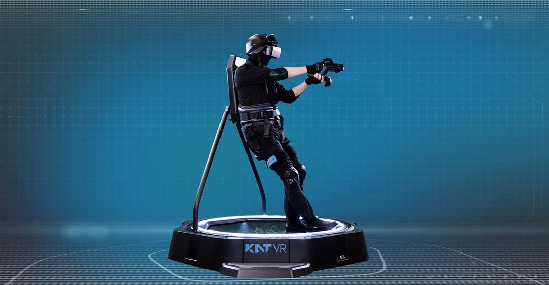 KAT VR独特开放式设计