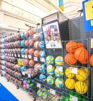 迪卡侬运动超市球类