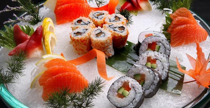 刺身寿司美味