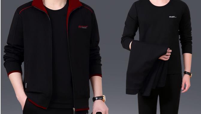 德尔惠服装运动装黑色