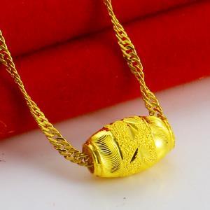 得发黄金项链