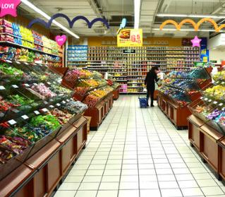 迪卡侬超市店面装修
