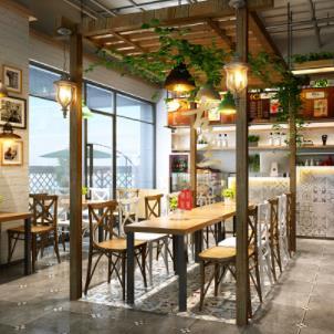 西式餐厅环境