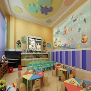 天强艺术幼儿园休息室