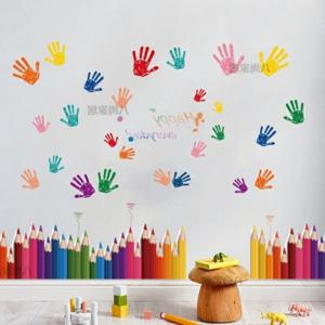 天音艺术培训学校墙壁