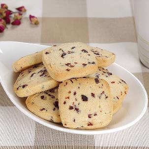 悟茶蓝莓饼干