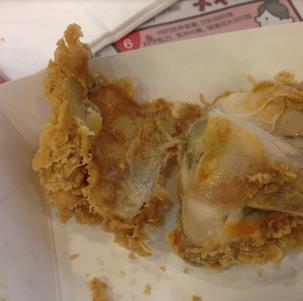 西汉脆皮鸡饭鸡块